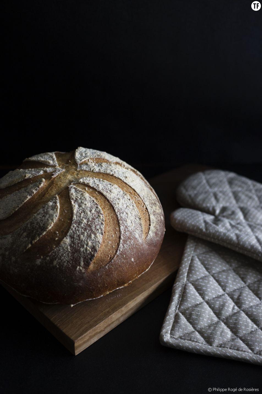 Recette de pain du chef Philippe Rogé de Rosières