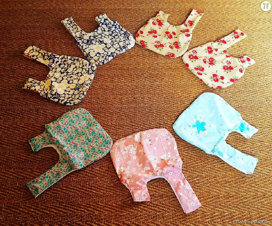 Des sacs spécialement conçus pour les femmes atteintes d'un cancer du sein.