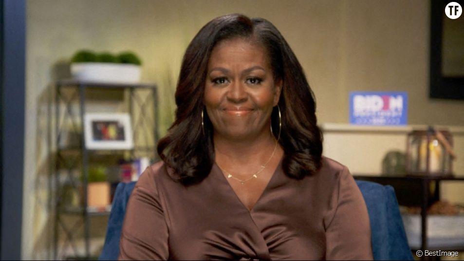 Michelle Obama tacle Donald Trump.