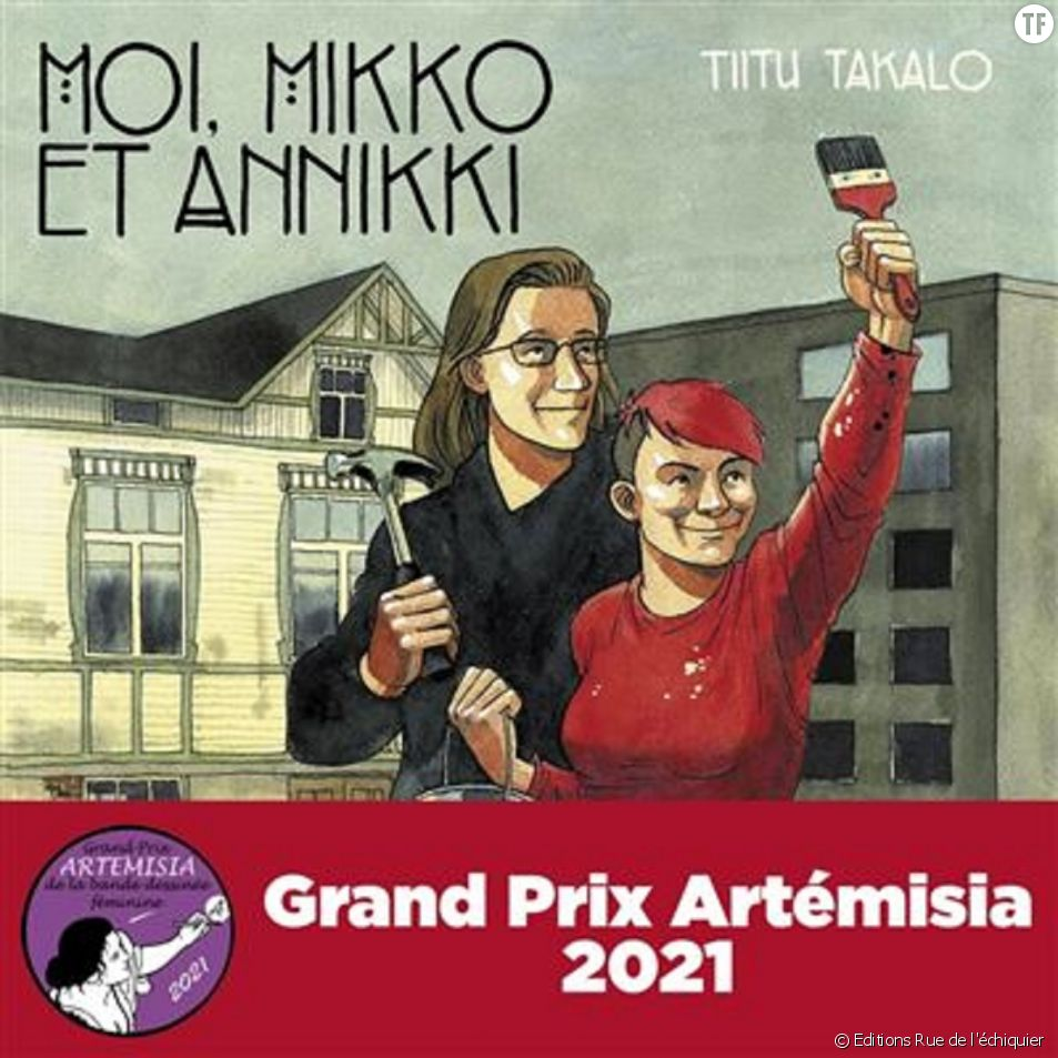 """""""Moi, Mikko et Annikki"""" de la Finlandaise Tiitu Takalo, couronnée par le prix Artémisia de la bande dessinée."""