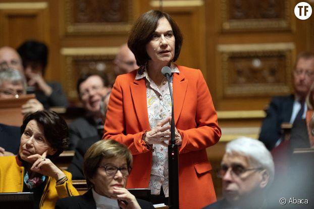 La sénatrice PS Laurence Rossignol, ici au Sénat le 3 mars 2020.