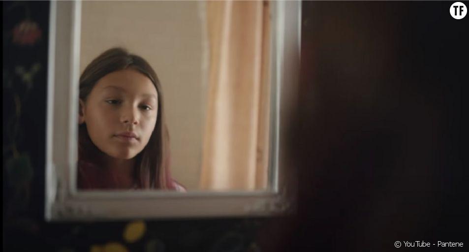 """Pantene - """"Sawyer & Ashley on the power of visibility"""". Une pub met en scène une petite fille transgenre."""