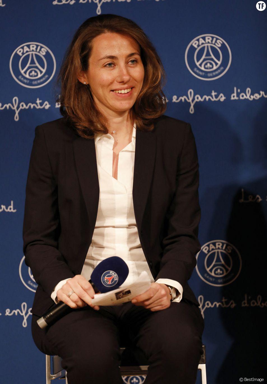 Sabrina Delannoy, ex-footballeuse et première femme à commenter l'Euro sur TF1