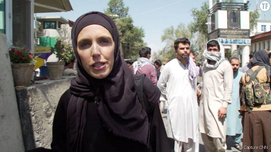 La journaliste de CNN à Kaboul, Clarissa Ward
