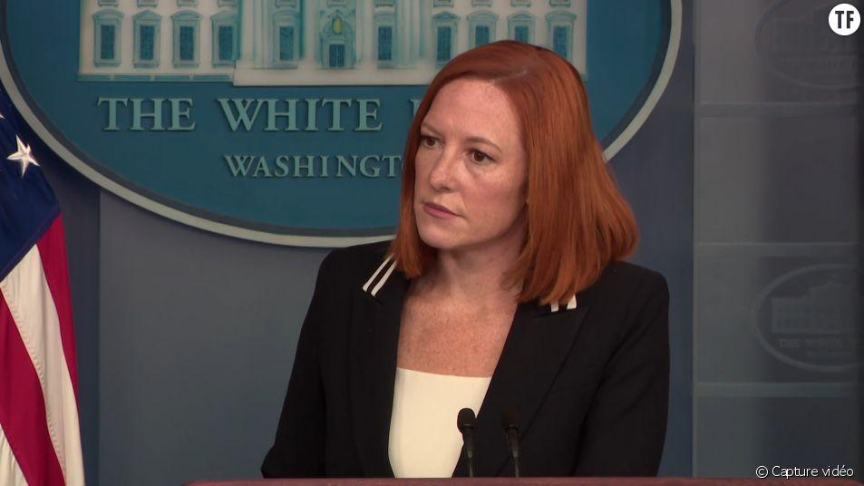 La porte-parole de la Maison Blanche Jen Psaki