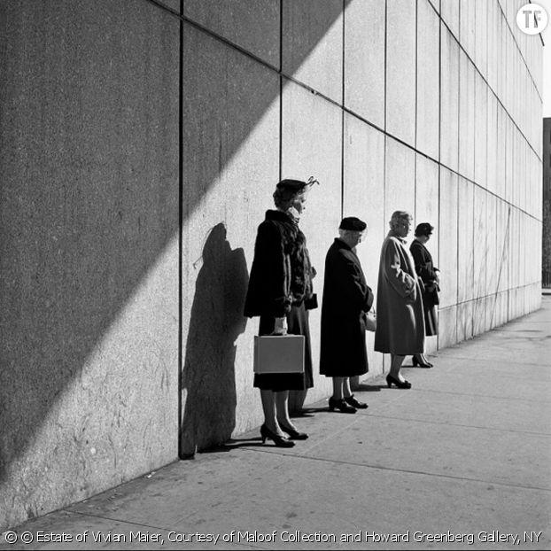 Vivian Maier, la gouvernante qui était (aussi) une photographe de génie [New York, 31 Octobre 1954]