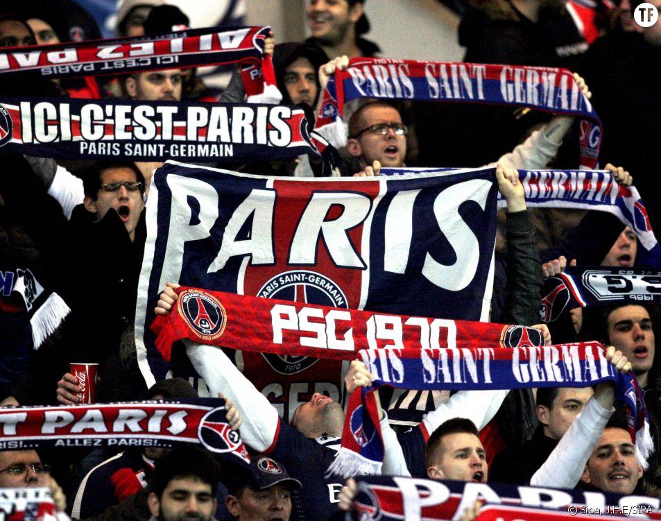 Des supporters du PSG.