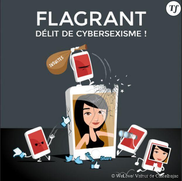 Le centre Hubertine Auclert vient de lancer la campagne Stop Cybersexisme