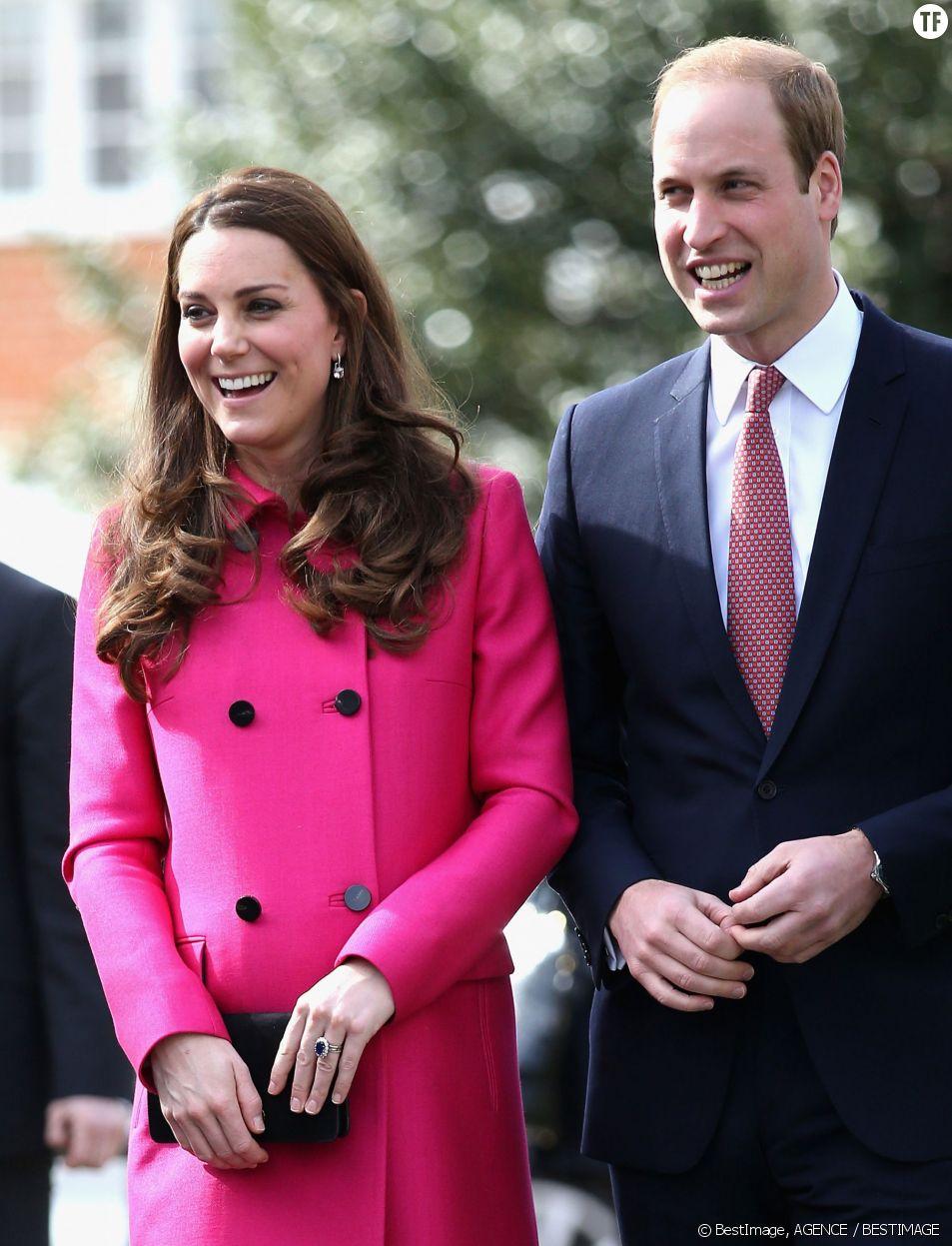 Le prince William et son épouse lors d'une sortie publique à Londres