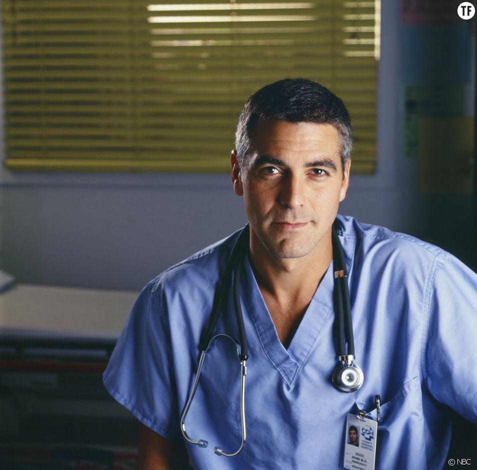 Dr Ross (George Clooney) dans Urgences, le pédiatre le plus sexy de la télé.