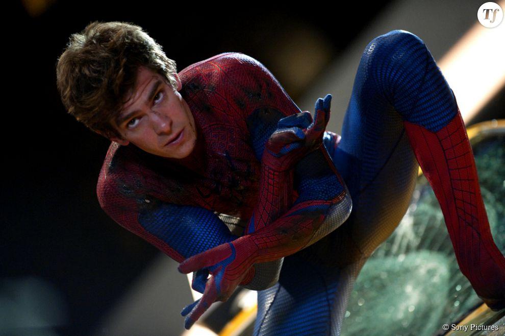 Andrew Garfield dans The Amazing Spider-Man
