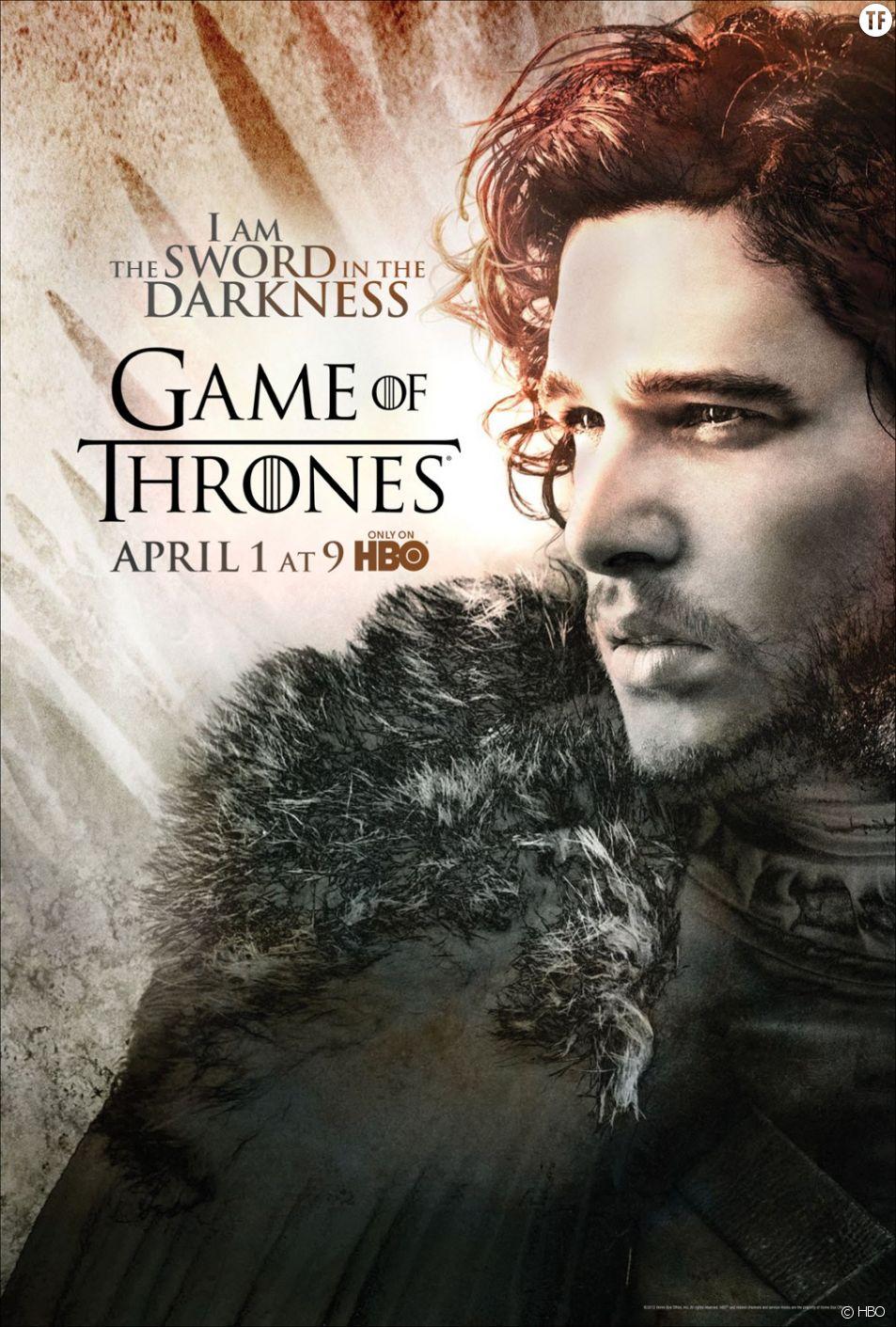 Poster de la saison 2 de Game of Thrones