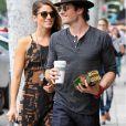 Ian Somerhalder et Nikki Reed dans les rues de Beverly Hills