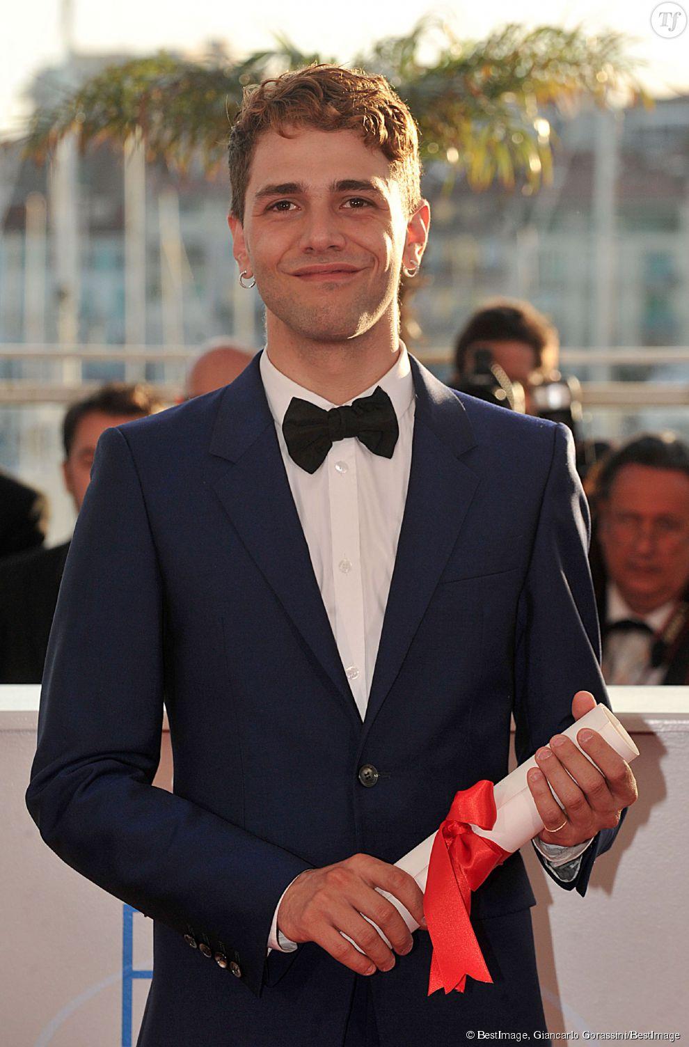 """Xavier Dolan et son prix du Jury pour """"Mommy"""" en 2014"""