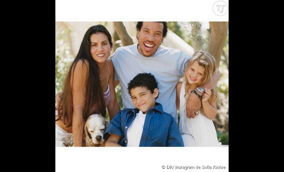 Lionel Richie et sa petite famille