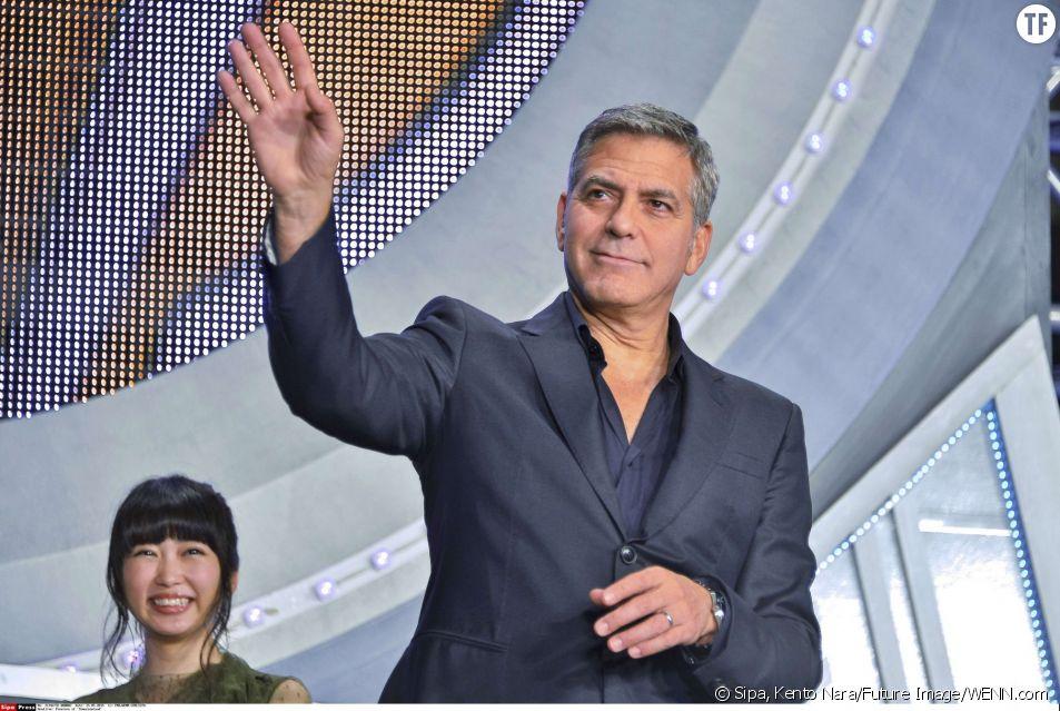 George Clooney à l'avant-première de Tomorrowland.