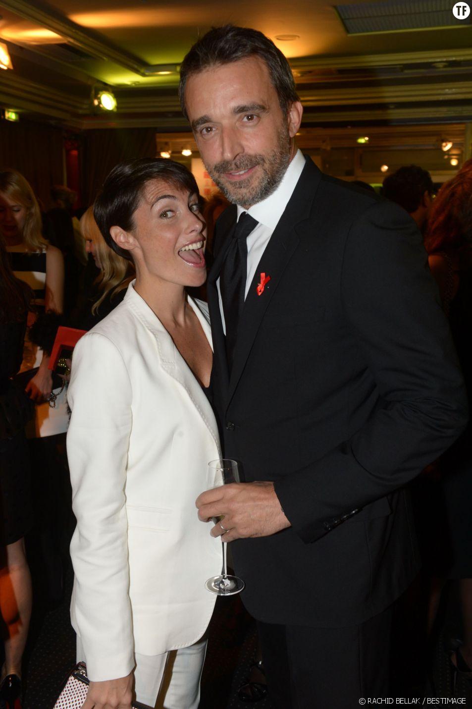 Alessandra Sublet et son époux