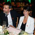 Alessandra Sublet et Clément Miserez au Sidaction en 2014
