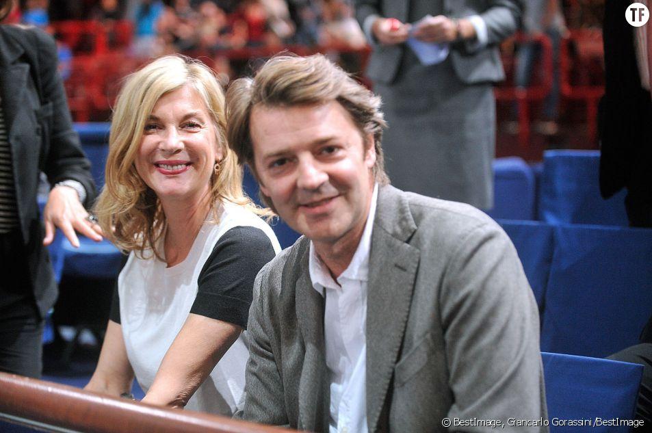 Le couple lors des Masters de Paris en 2014
