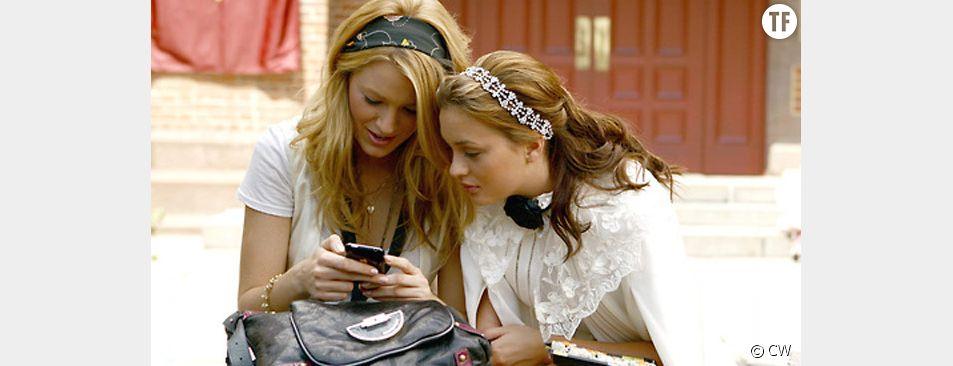 Les héroïnes de Gossip Girl, la série qui a inspiré l'application Gossip.