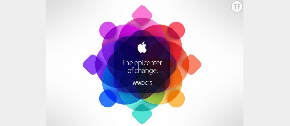 Invitation à la WWDC 2015 d'Apple.