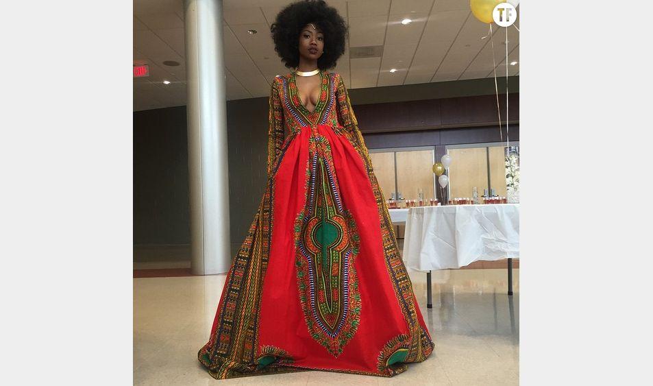 La robe de Kyemah McEntyre - via @mindofkye
