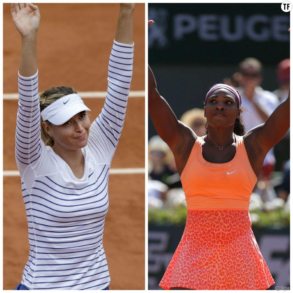 Maria Sharapova et Serena Williams sont les deux seules femmes du classement publié par le magazine américain Forbes.