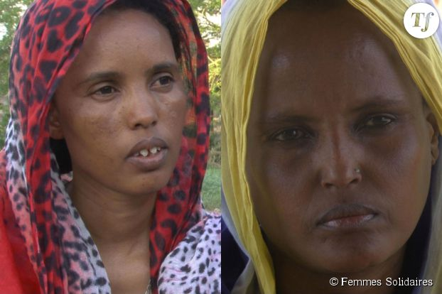 Madina Aidahis et Halima Issé, les deux militantes de Gamissa qui ont entamé, il y a 20 ans, le combat contre les MGF dans la ragion.