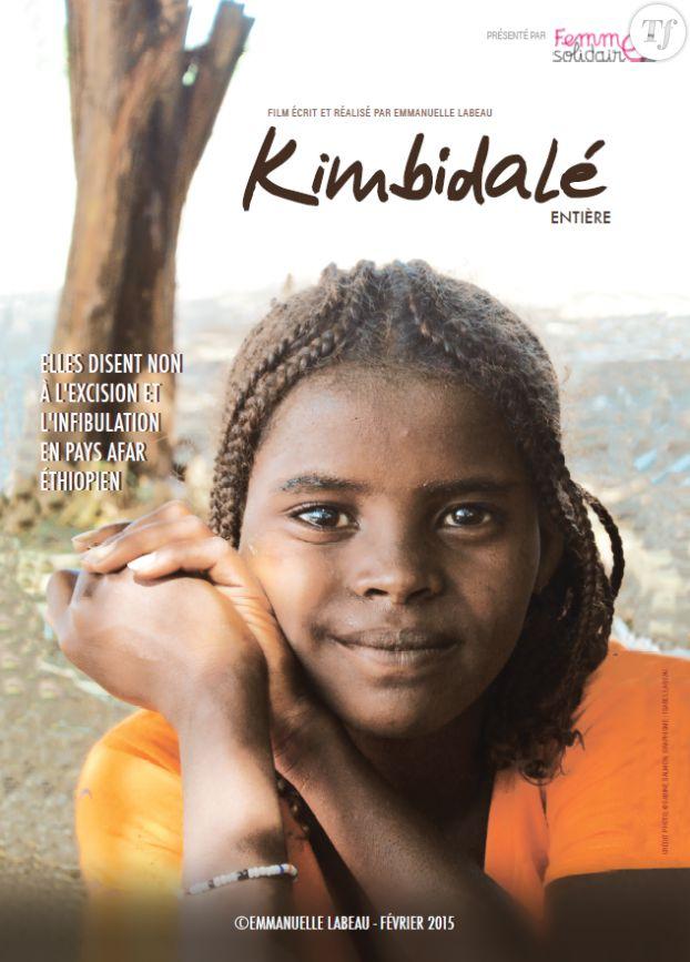 """L'affiche du documentaire """"Kimbidalé - Entière"""", réalisé par Emmanuelle Labeau."""