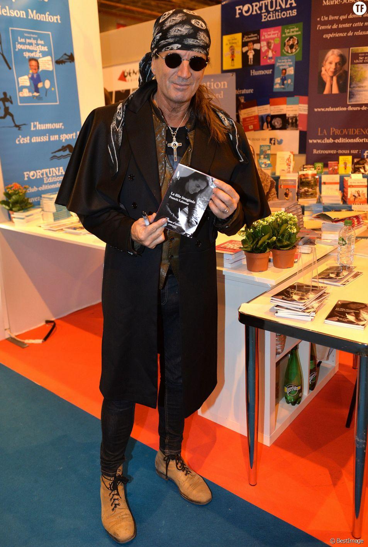 Francis Lalanne au 35ème salon du livre en 2015