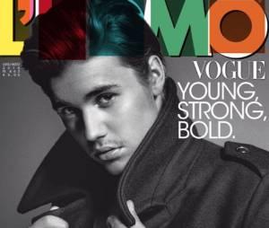 Justin Bieber en couverture du magazine l'Uomo Vogue