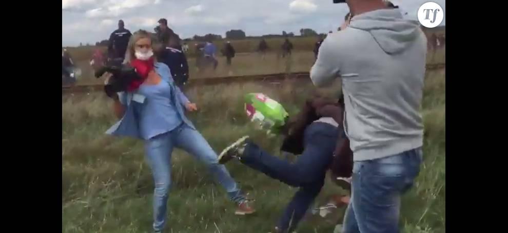 Petra László, la journaliste cogneuse de migrants