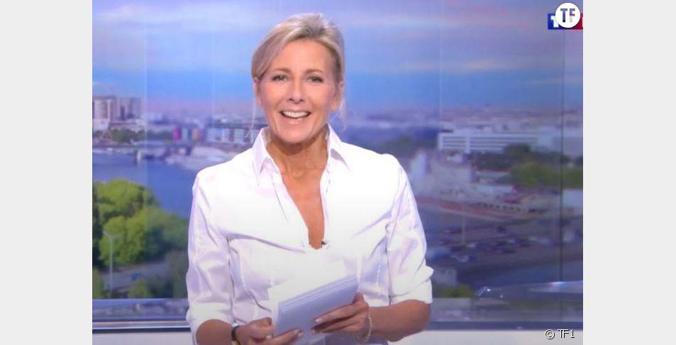 Claire Chazal, dernier JT sur TF1