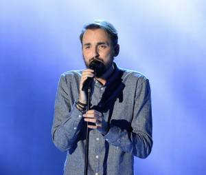 Le chanteur Christophe Willem