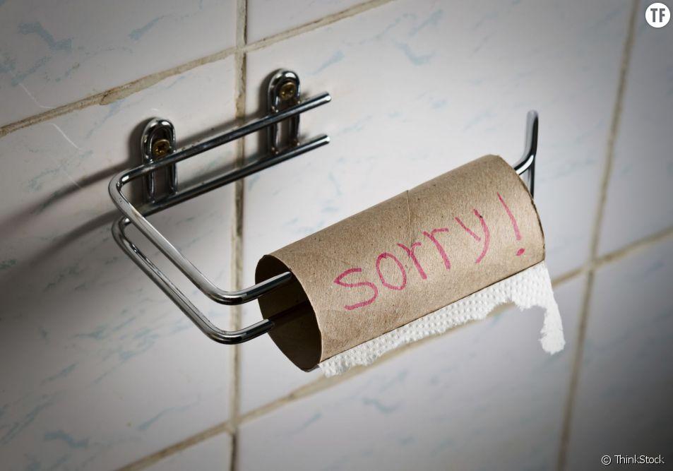 Par peur d'une nouvelle pénurie de papier toilette, les japonais feraient des réserves de rouleaux d'avance...
