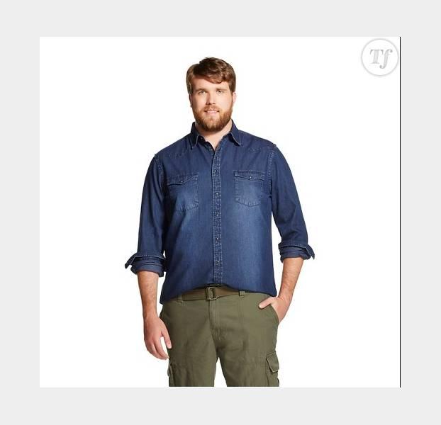 Zachary Miko, mannequin plus size pour Target