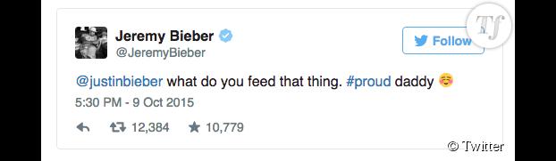 Le tweet polémique de Jeremy Bieber
