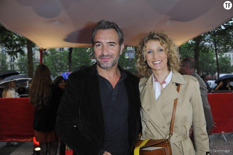Alexandra Lamy et son ex-mari Jean Dujardin