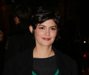 L'actrice Audrey Tautou