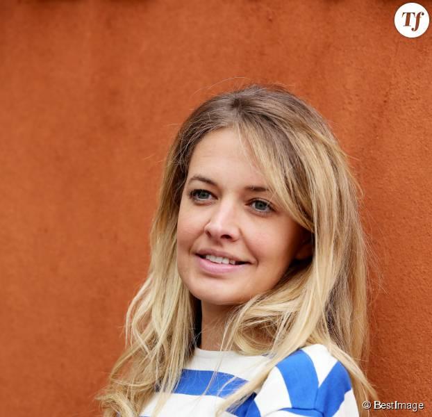 Carine Galli - Jour 11 - People dans le village lors du tournoi de tennis de Roland Garros à Paris le 3 juin 2015.