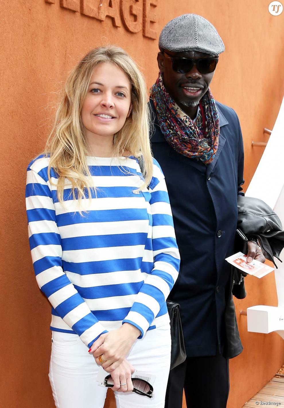 Carine Galli, guest - Jour 11 - People dans le village lors du tournoi de tennis de Roland Garros à Paris le 3 juin 2015.