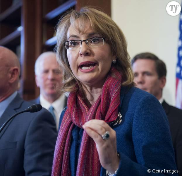 Gabrielle Giffords pour un durcissement de la législation sur les armes à feu