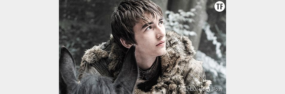 Isaac Hempstead-Wright alias Bran Stark dans Game of Thrones
