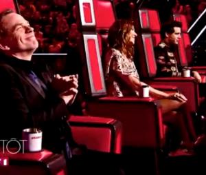 The Voice 2016 : les coachs Zazie, Garou, Mika et Florent Pagny prêts à tout pour gagner (vidéo)
