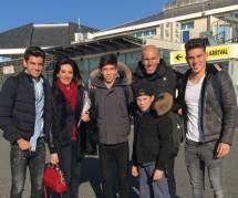 Zidane : si heureux avec sa femme Véronique et leurs quatre fils Enzo, Luca, Théo et Elyaz
