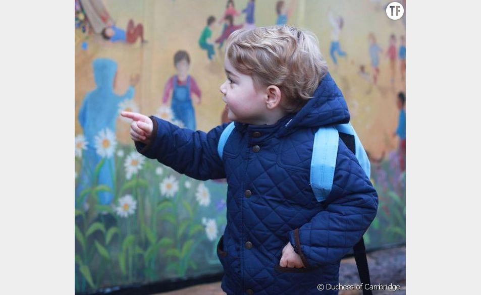 Le prince George fait sa rentrée dans une crèche Montessori