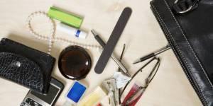 Quels sont les objets à glisser dans un sac à main ?