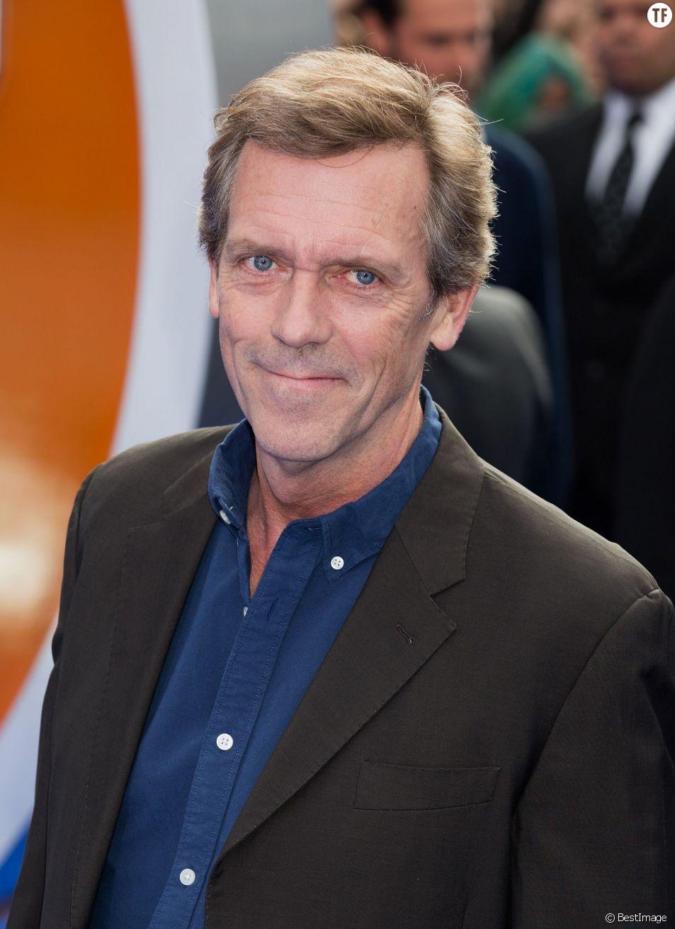 L'acteur Hugh Laurie