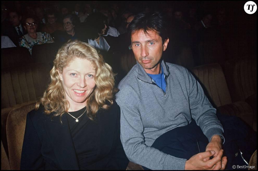 Thierry Lhermitte et sa femme Hélène en 1992