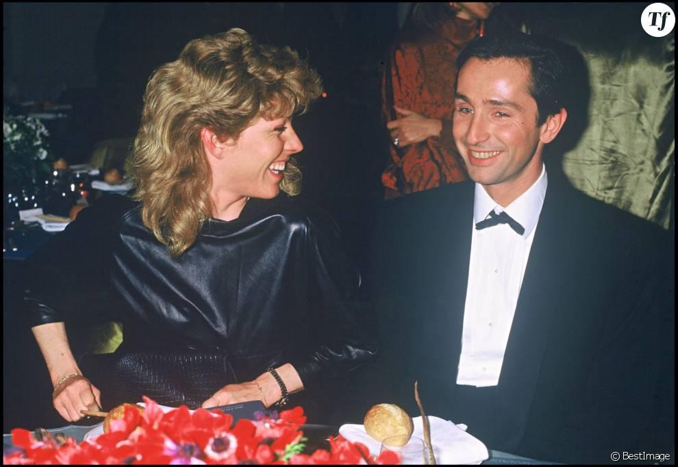 Thierry Lhermitte et sa femme Hélène en 1984